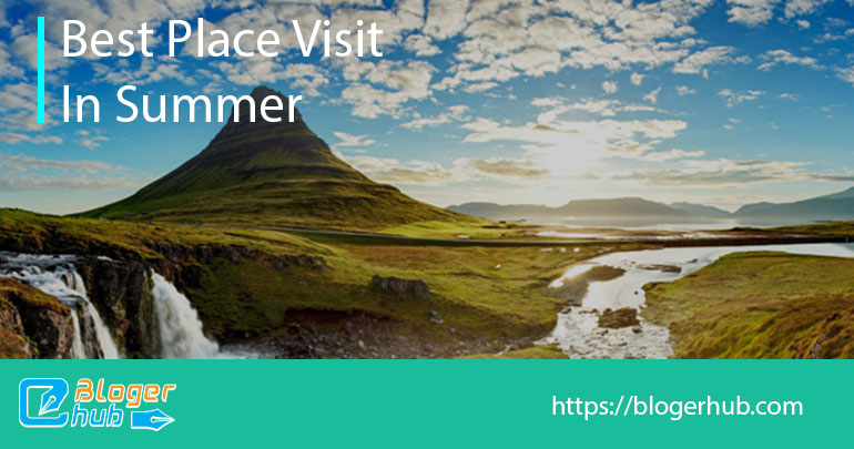 Best places to visit in summer in Iceland